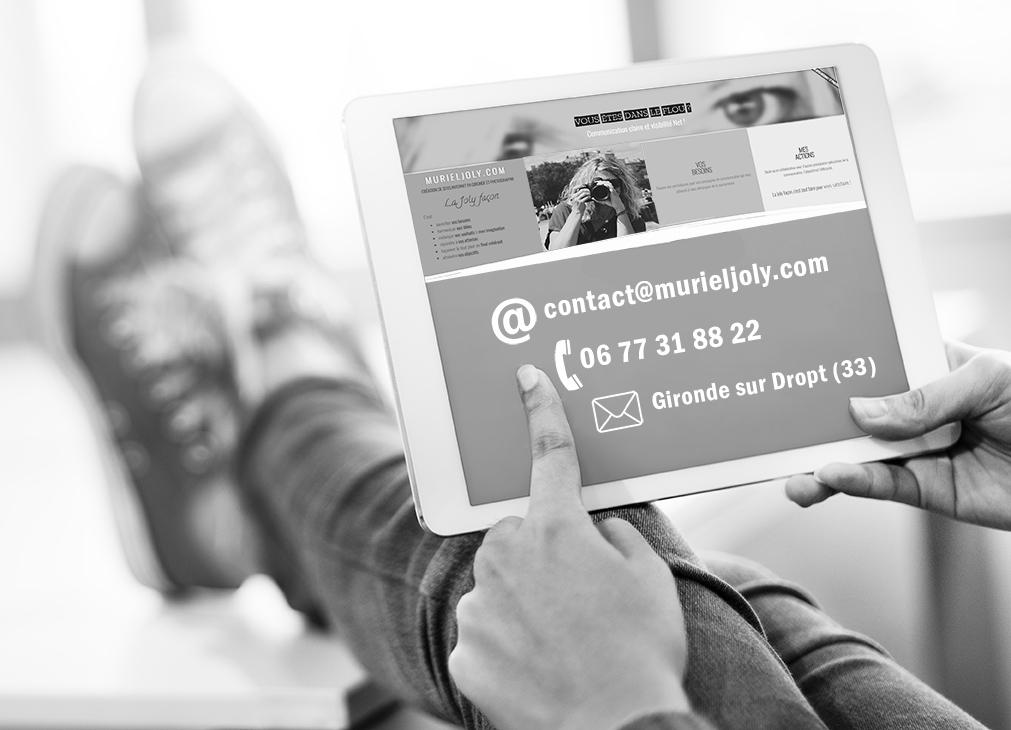 création de site internet en gironde ite responsive avec un nom de domaine par une agence web